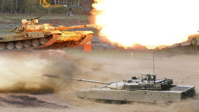 دبابة تي-72 الروسية