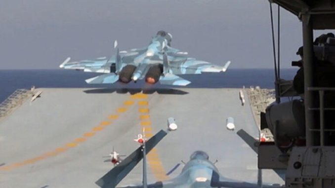 حاملة طائرات روسية