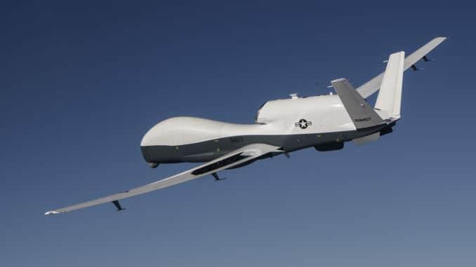 طائرة بدون طيار أميركية من طراز MQ-4C-Triton