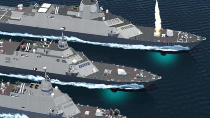 سفن السطح القتالية