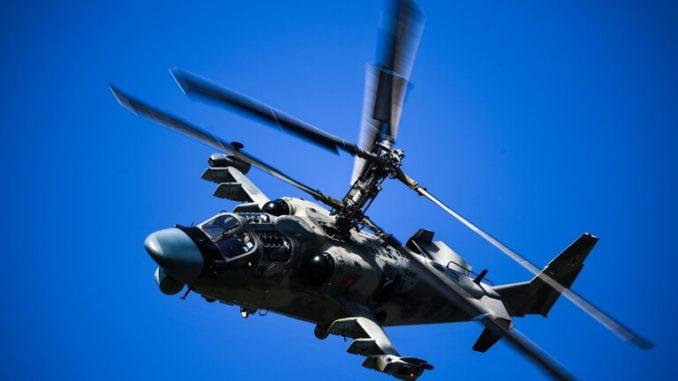 """مروحية """"كا-52"""" العسكرية الروسية"""