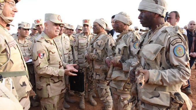 تدريبات عسكرية مصرية