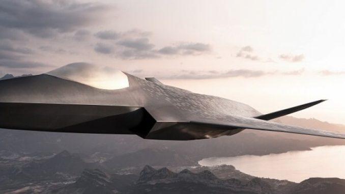 تصور لنموذج مقاتلة الجيل السادس