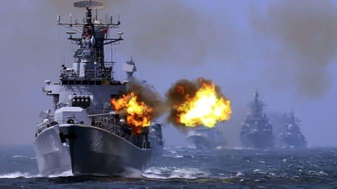 مناورات عسكرية بين الصين وروسيا