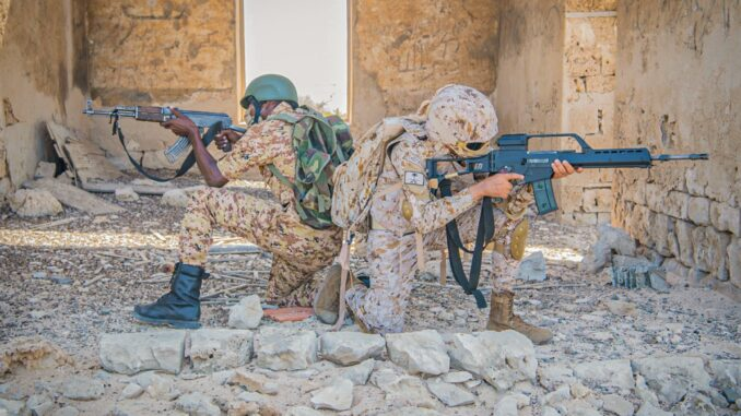 مناورات عسكرية بين السعودية والسودان