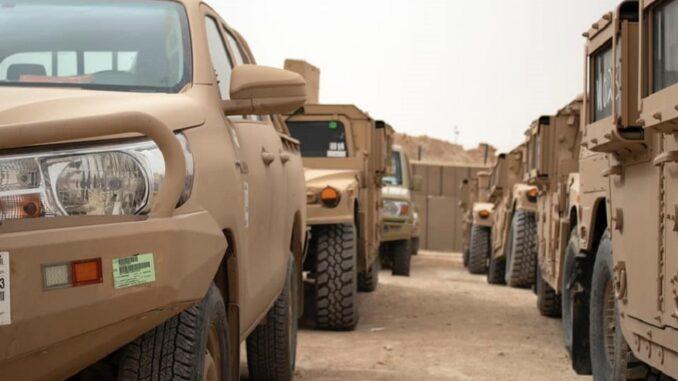 مساعدات عسكرية للعراق