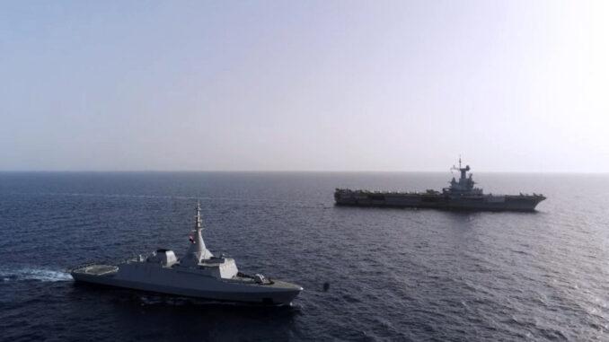 تدريبات بحرية بين مصر وفرنسا