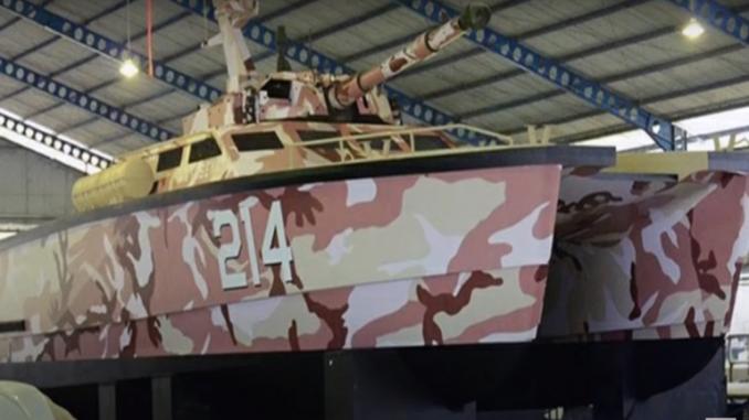 دبابة إندونيسية مائية