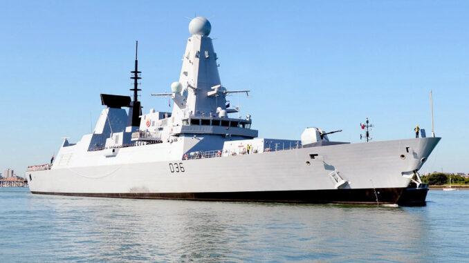 مدمرة HMS Defender