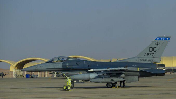 مقاتلة إف-16 أميركية