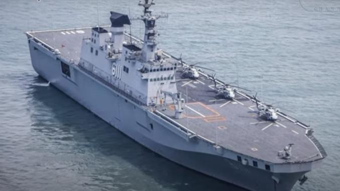 سفينة إنزال حاملة للطائرات كورية جنوبية