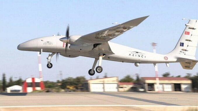طائرة Acinci بدون طيار التركية