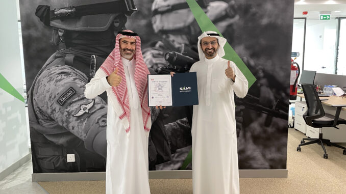 تسليم الشركة السعودية للصناعات العسكرية SAMI شهادة AS9100