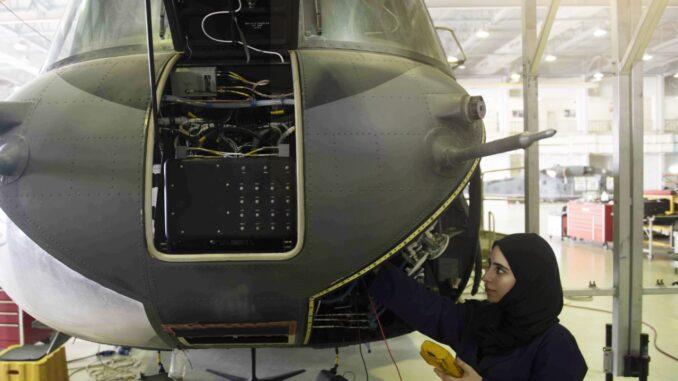 المرأة الإماراتية في قطاع الدفاع