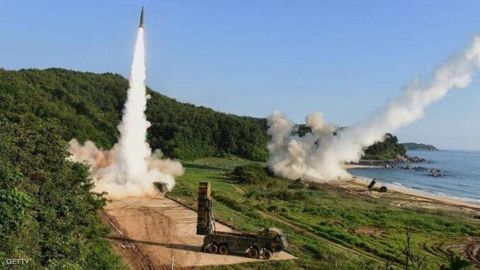 إختبار صاروخ أميركي