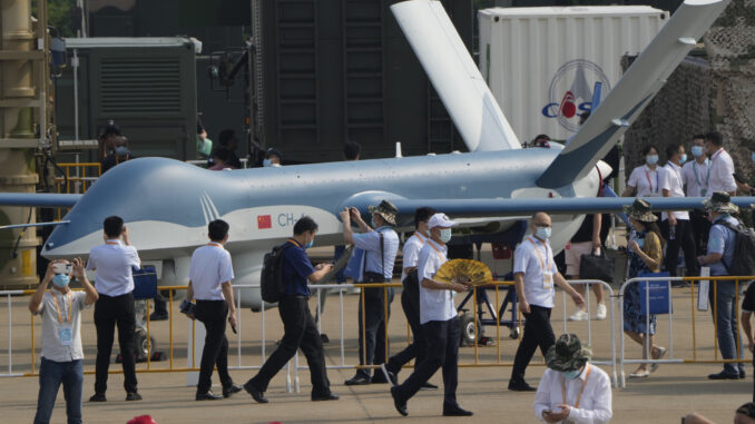 معرض عسكري صيني
