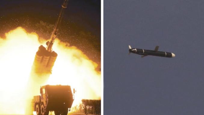 إطلاق صاروخ باليستي في كوريا الشمالية