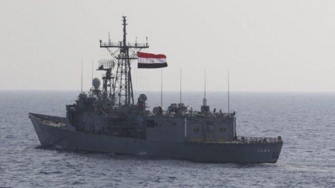 مناورات بحرية مصرية