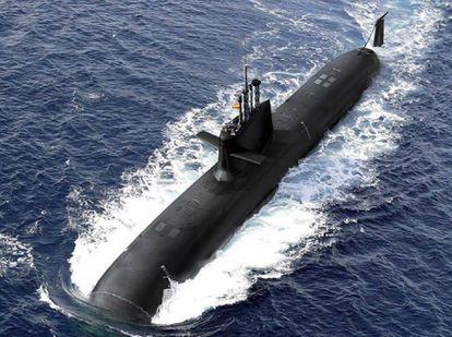 غواصة تابعة للبحرية الاسبانية
